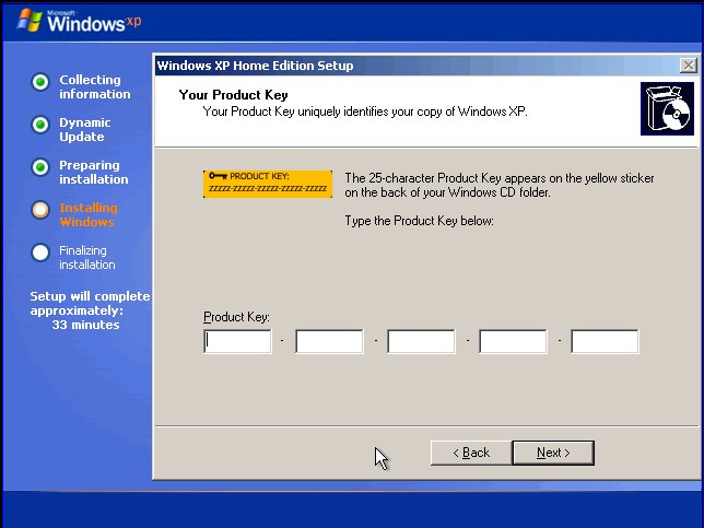 windows xp product key. Product Key